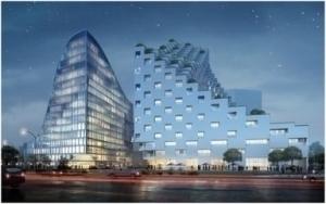 办公整体铝蜂窝板铝装,开启全新办公室装修风采,环保节能先锋