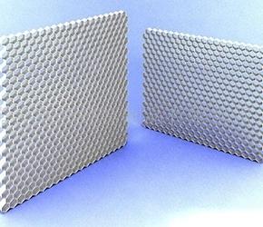 铝蜂窝瓦楞芯的性能