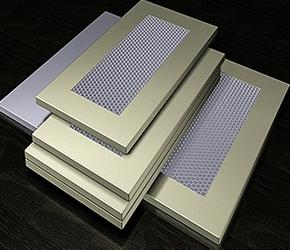 铝蜂窝板在建筑装饰中的应用
